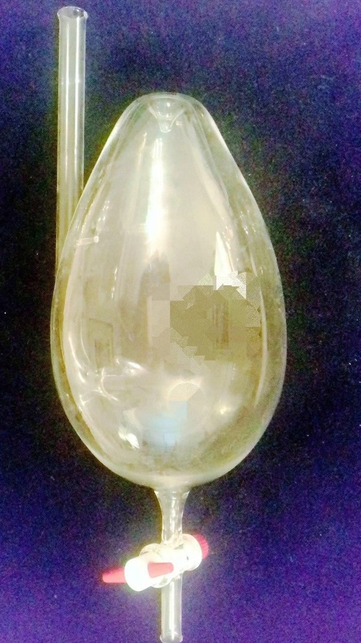 Wasserei aus Glas