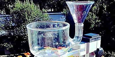 Robustes Wasserwirblergestell